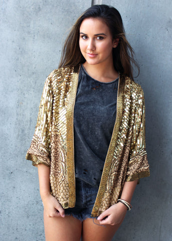 stardust sequin jacket spell gypsy collective