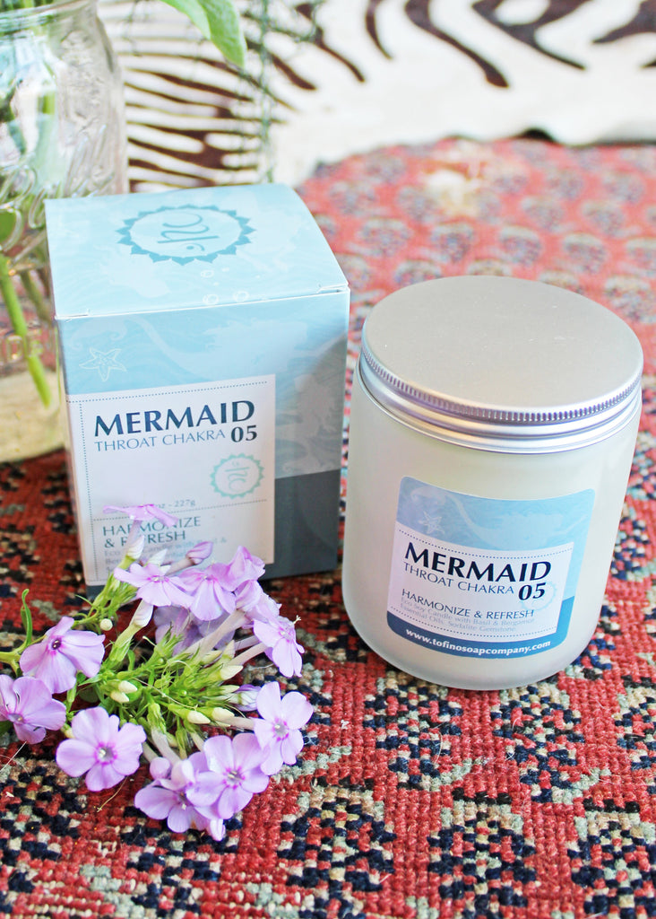 Mermaid Gemstone Candle