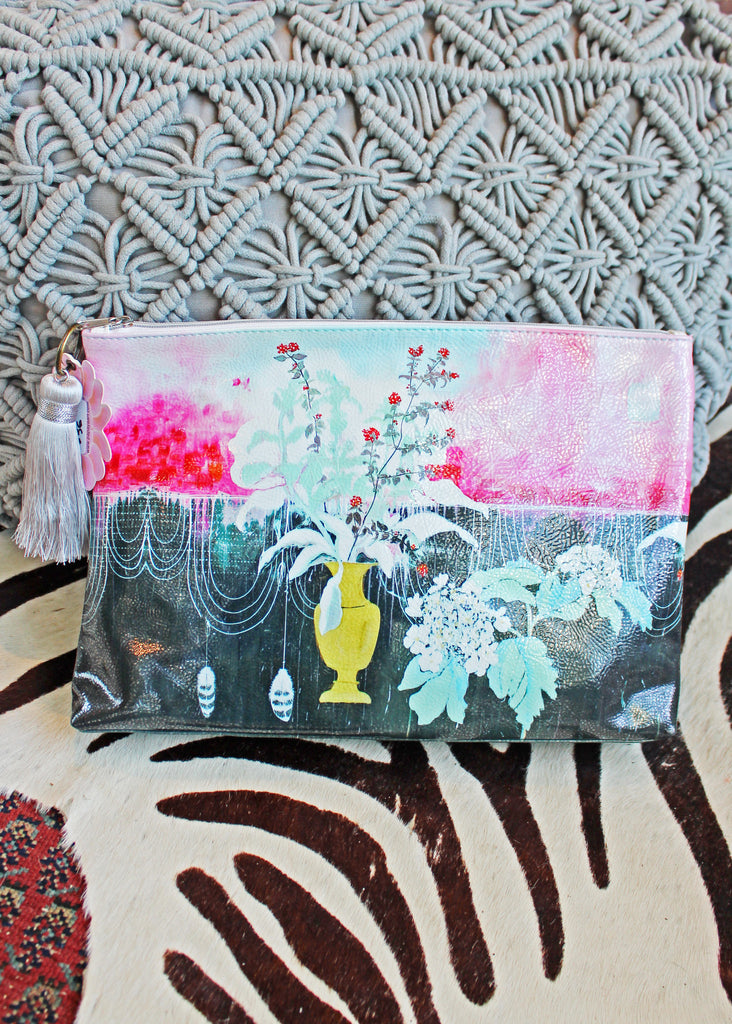 Still Life Large Pouch