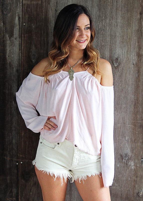 Off Shoulder Blouse by NYTT blush
