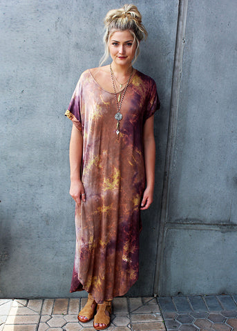 Lightening Maxi Dress Tie Dye
