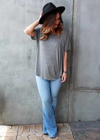 Knotted Pocket Tee