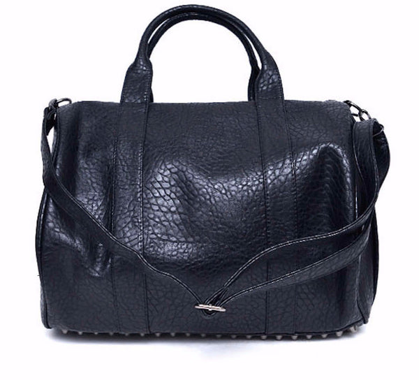 Faux Leather Weekender
