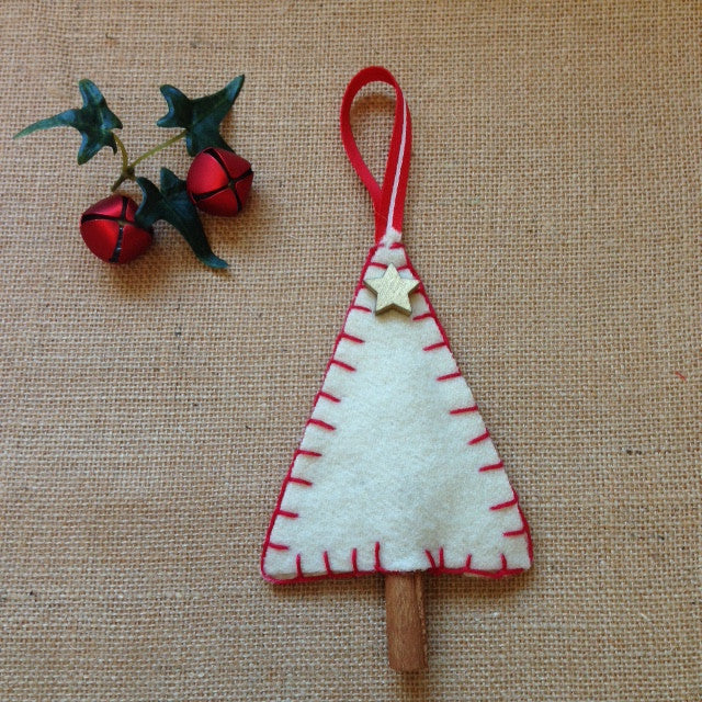 Woollen Christmas Cinnamon Tree