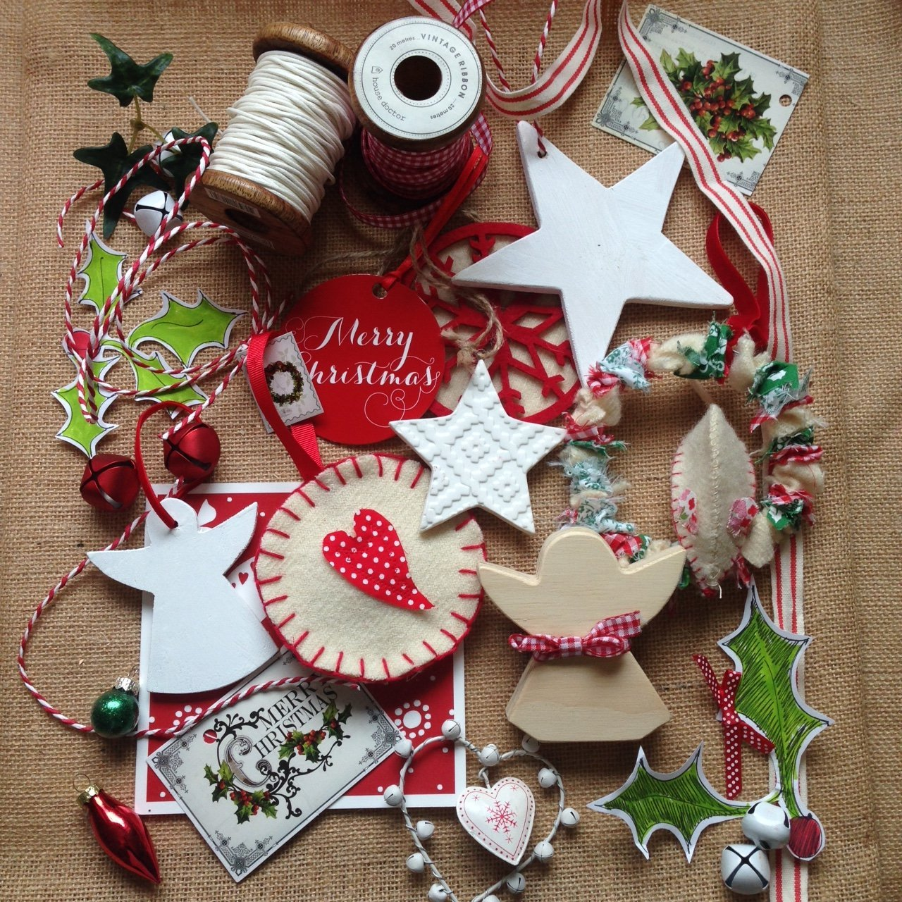 Hand Crafted Christmas Decorations
