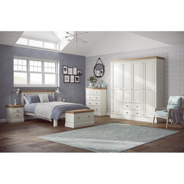 BEDROOM. Linstead Oak / Painted. - SAVE 15%.