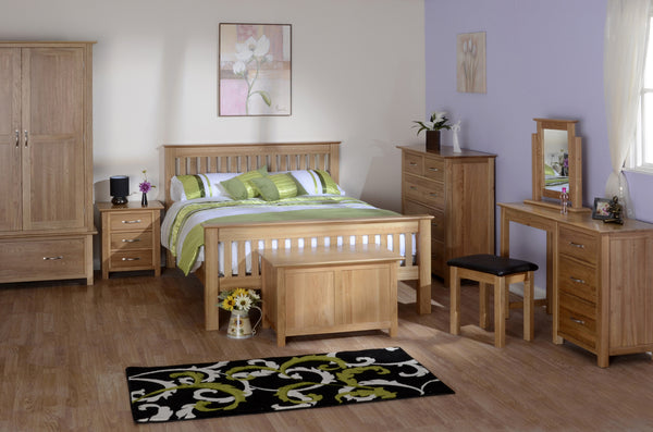 BEDROOM. Newbury Solid Oak.