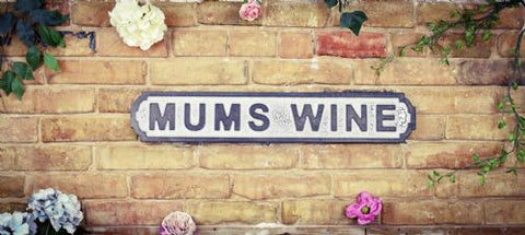 Mums wine wall sign