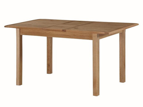French Oak Extending Dining Table