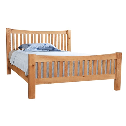 Dorking Oak 5' Low Foot End Bed