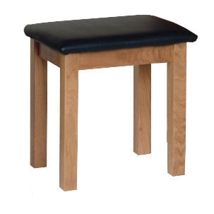 Newbury Oak Dressing Table Stool