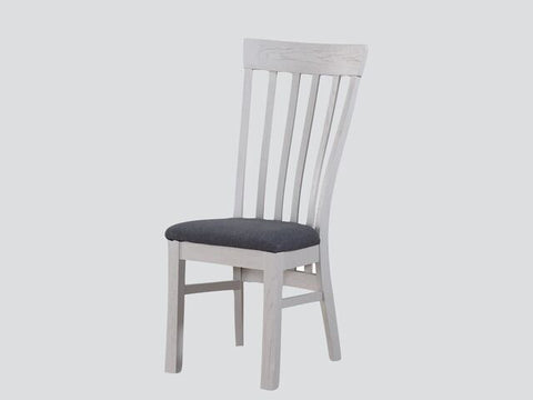 French Oak / Stone Grey Painted Dining Chair