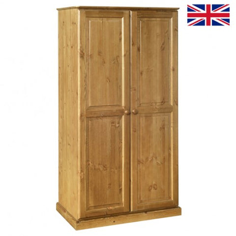 Tenby Pine All Hanging Double Wardrobe