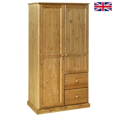 Tenby Pine Combination Wardrobe