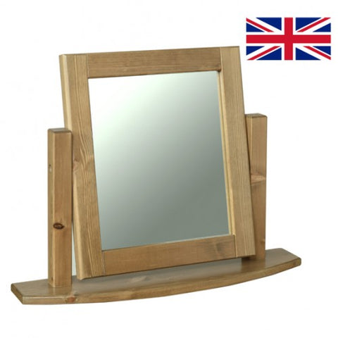 Tenby Solid Pine Dressing Table Mirror