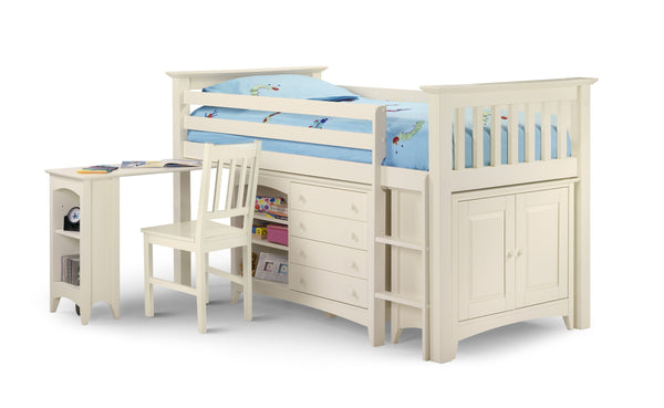 Charmaine Sleepstation (White) with Right Hand Ladder.