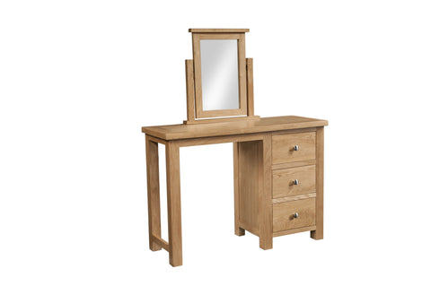 Dorking Oak Single Vanity Mirror