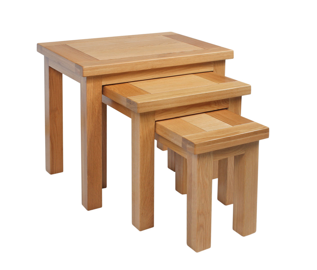 Dorking Oak Nest of Tables
