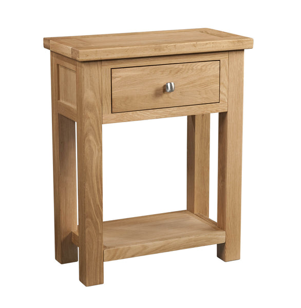 Dorking Oak 1 Drawer Console Table