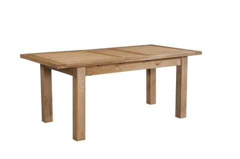 Dorset Oak Small Dining Table with 1 Extension Leaf