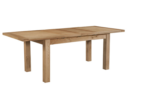 Dorset Oak Medium Dining Table with 2 Extension Leaves