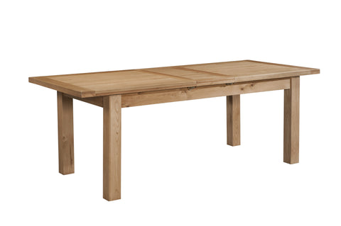 Dorset Oak Large Dining Table with 2 Extension Leaves
