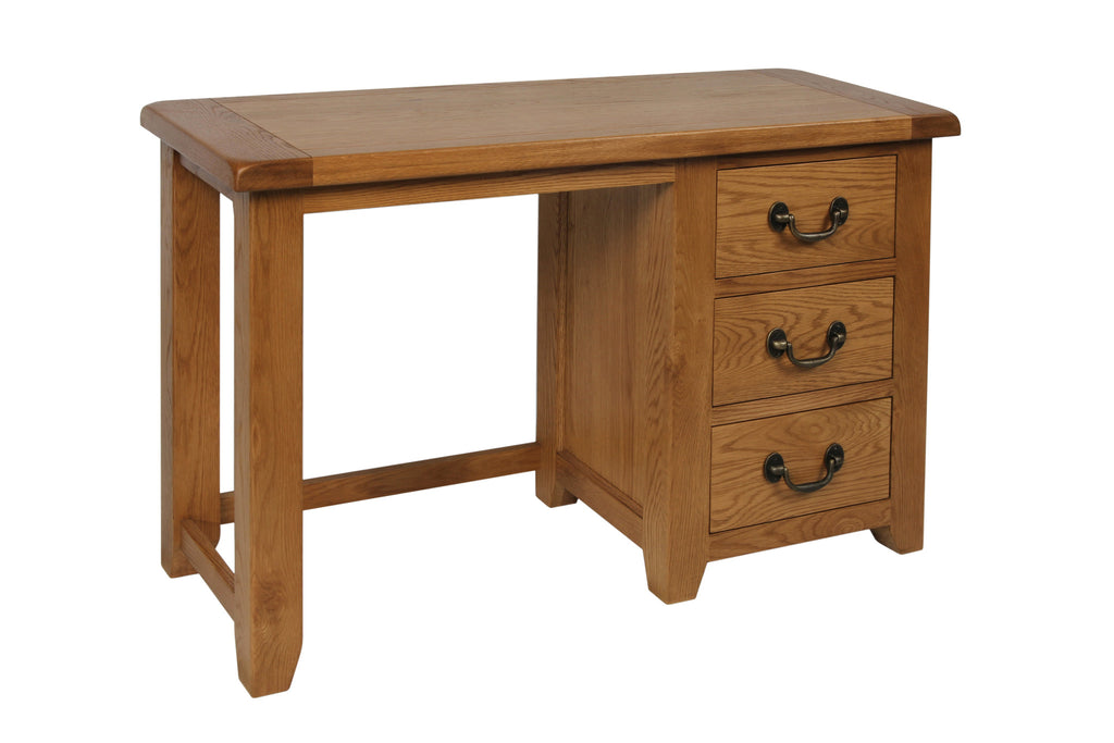 Stourbridge Oak Dressing Table / Desk