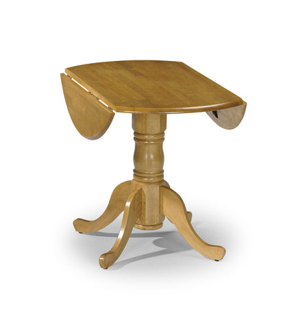 90cm Round Drop Leaf Table