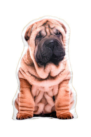 Shar Pei Shaped Cushion