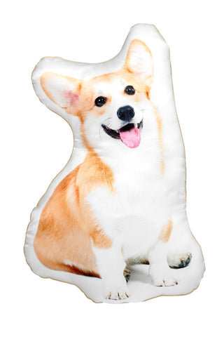 Corgi Shaped Cushion