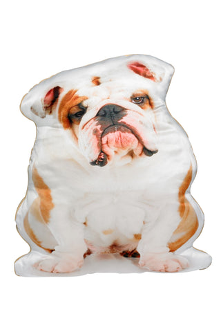 British Bulldog Shaped Cushion