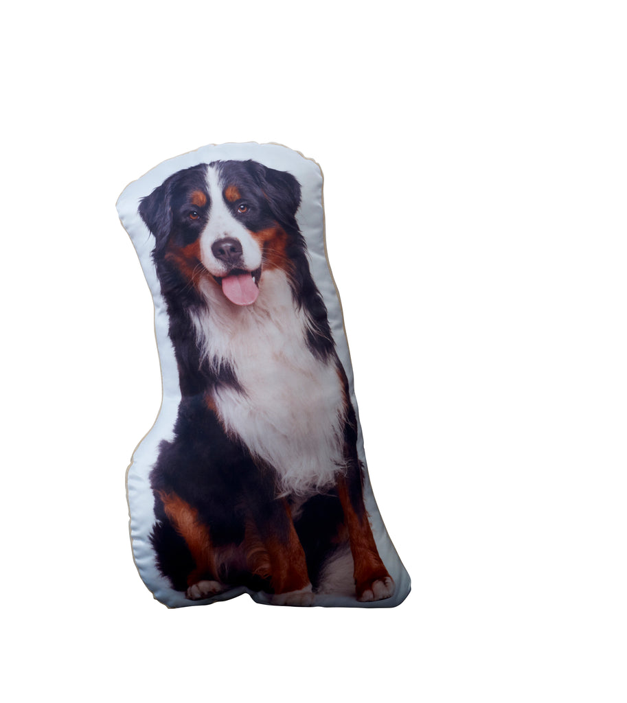 Burnese Mountain dog Shaped Cushion