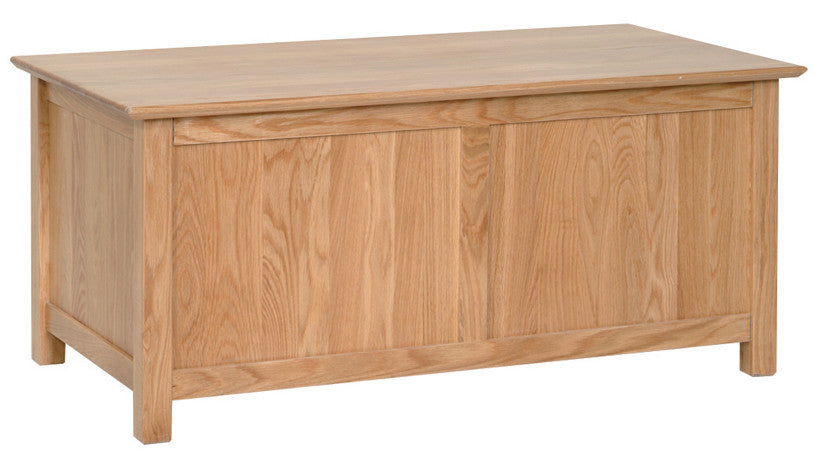 Newbury Oak Blanket Box