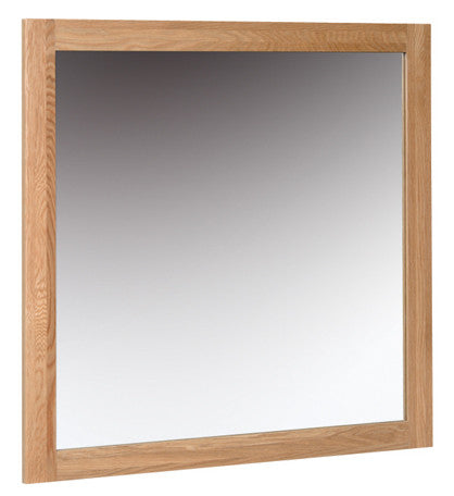 Newbury Oak Wall Mirror - 900mm x 900mm