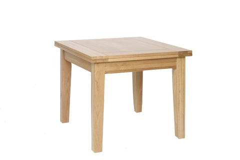Newbury Oak 3' x 3' Flip Top Extending Table