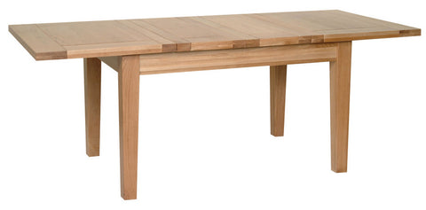 "Newbury Oak 4'4"" x 3' Extending Table (2 Leaf)"