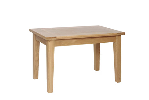 "Newbury Oak 4' x 2'5"" Fixed Top Table"