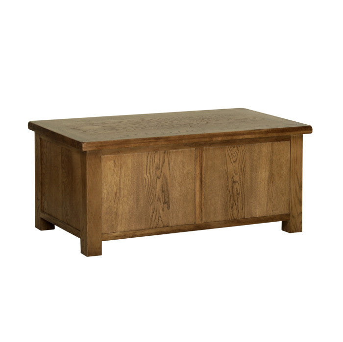 Rushbrooke Oak Blanket Box