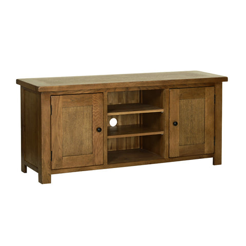 Rushbrooke Oak Large TV Cabinet