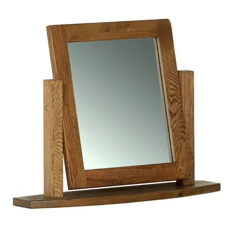Rushbrooke Oak Dressing Table Mirror