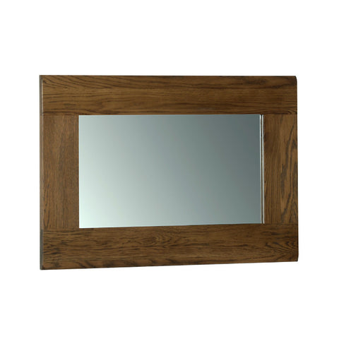 Rushbrooke Oak Wall Mirror 90 x 60cm
