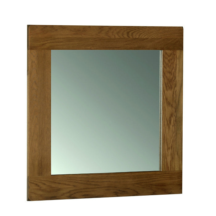 Rushbrooke Oak Wall Mirror 90 x 90cm