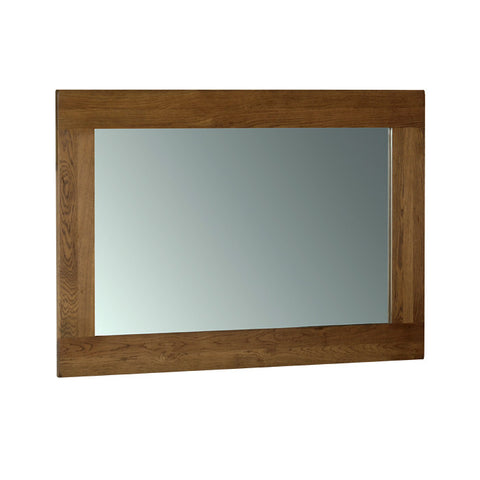 Rushbrooke Oak Wall Mirror 130 x 90cm