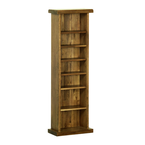 Rushbrooke Oak CD/DVD Rack