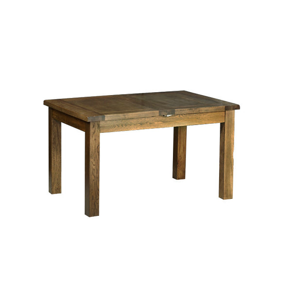 "Rushbrooke Oak 4'4"" x 3' Extending Table (2 Leaf)"
