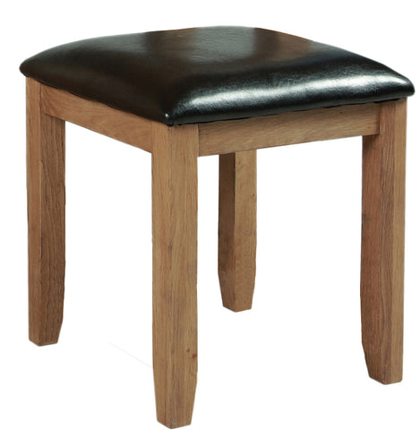 Stourbridge Oak Stool