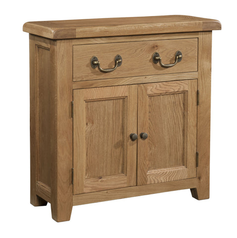 Stourbridge Oak Small Sideboard with 1 Drawer