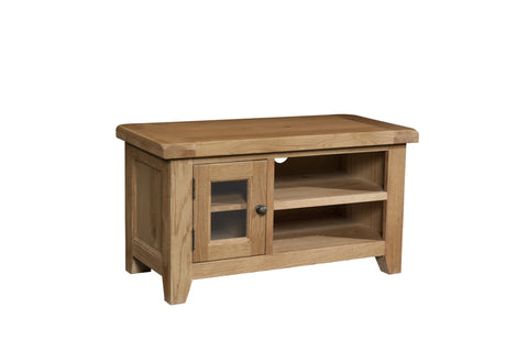 Stourbridge Oak Small TV Unit