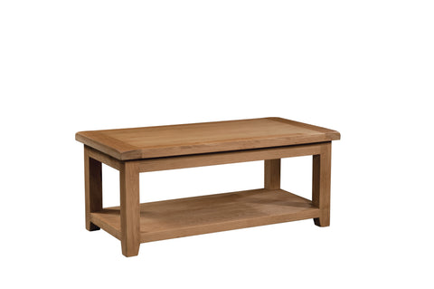 Stourbridge Oak Large Coffee Table