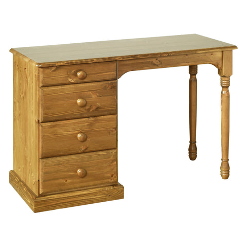 Torridge Solid Pine 4 Drawer Dressing Table